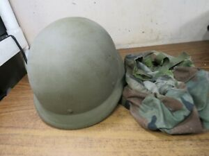 USGI Helmet Made With Kevlar PASGT X SMALL XS 1 DEVILS LAKE SIOUX w cover $99.99
