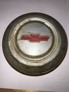 1967 1968 Chevy C20 3 4 Ton Truck 10 5 Painted Dog Dish Hubcap Chevrolet Rare