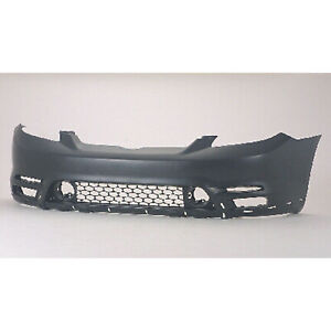 To1000237 New Replacement Front Bumper Cover Fits 2003 2004 Toyota Matrix