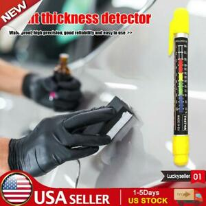 Car Paint Coating Thickness Meter Gauge Crash Check Test Paint Detection Tester