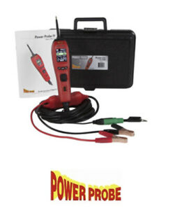 Power Probe Pp401as Red Master Pp4 Kit With Test Leads New W Warranty