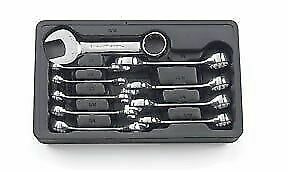 Gearwrench 10pc Sae Full Polish Stubby Wrench Set 3 8 15 16 81905