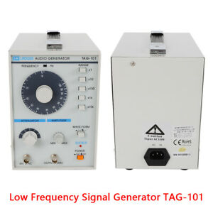 New 10hz 1mhz Low Frequency Audio Signal Generator Signal Source 110v 5w Tag 101