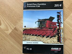 Case Ih Axial Flow Combine Common Cab Factory Technical Training Manual Oem