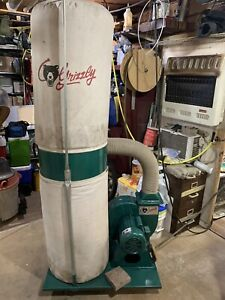 Grizzly G1028z2 240v 1 Hp Dust Collector