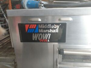 Middleby Marshall Wow Oven ps 840e Pizza Hut Type very Well Maintained 7000obo