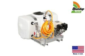 Sprayer Commercial Skid Mounted 7 Gpm 50 Gallon Tank Roundup Ready