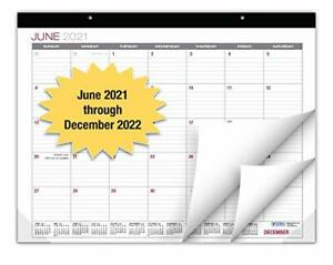 Professional Desk Calendar 2021 2022 Large Monthly Pages 22 x17 Runs Fro