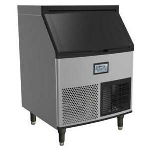 Valpro Vpim280 280 Lb day Commercial Undercounter Ice Cube Maker Machine New