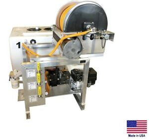Sprayer Commercial Skid Mounted 9 5 Gpm 580 Psi 50 50 Gal Split Tank