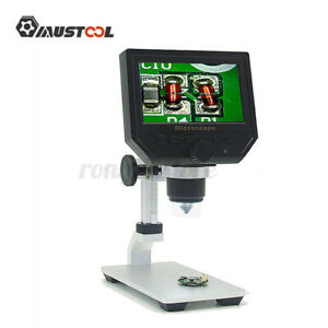 Mustool G600 Digital 1 600x 3 6mp 4 3 Hd Lcd Microscope Continuous R