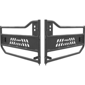 Set Ars25009 Aries Rock Doors Set Of 2 Front Rear New For Jeep Wrangler Pair