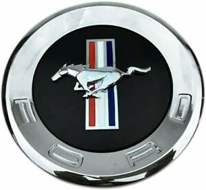 New Rear Trunk Mustang Horse Tri Bar Pony Round 15cm 5 9 Emblems Ford 2010 Up