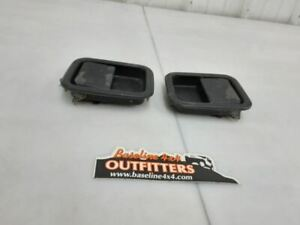 Jeep Tj Wrangler Driver And Passenger Full Door Outer Handles 1997 2006 46536