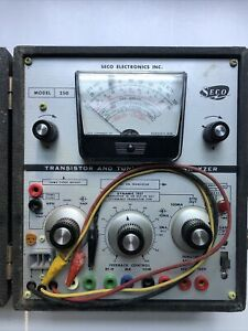 Seco Transistor And Tunnel Diode Analyzer Model 250 Vintage Untested