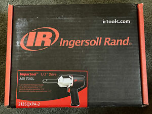 Impactool 12 Drive Ingersoll Rand Air Tool 2135qxpa 2 Anvil Impact Wrench New