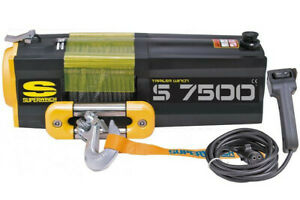 Superwinch S Series Utility Winches S7500sr Synthetic Rope Nib