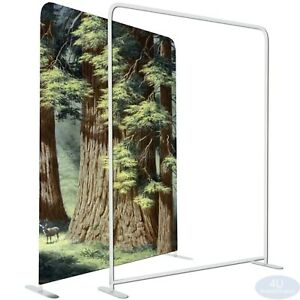 5x8ft Ez Tube Fabric Display Frame Straight Booth Show Stand hardware Only