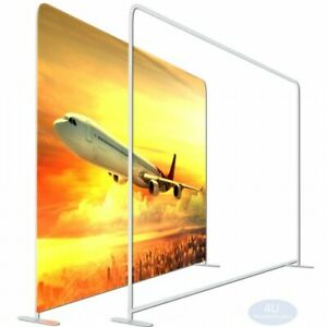8x8ft tension Fabric Ez Tube Display Wall Stand For Straight Booth Exhibit Show