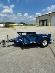 2018 Air tow S10 55 Trailer With Hydraulic Ground load Deck Air Suspension