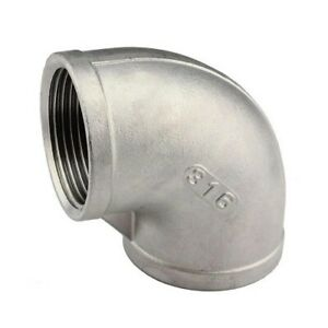 3 4 Npt 90 Degree Elbow 316 Stainless Steel Pipe Fitting