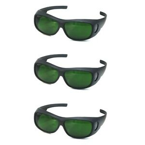 3pcs 3192 Ipl Safety Glasses 200 2000nm Laser Beauty Protection Goggles Eyepatch