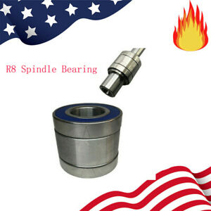 Milling Machine Part R8 Spindle Bearings Assembly Milling For Bridgeport 1set