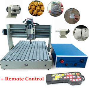 Usb 4axis Router Engraver Cnc 3040t Wood Drill milling Machine 400w handwheel
