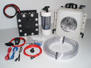 25 Plate Hho Hydrogen Generator Sealed Dry Cell Kit Watch Video