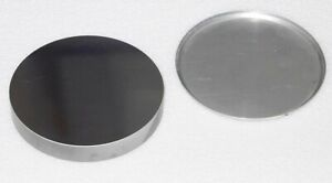 Glass Block Round Large Parabolic Mirror With Cover From Spectroscope