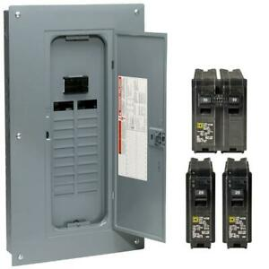 Indoor Main Breaker Plug on Neutral Load Center With Cover 20 space 40 circuit