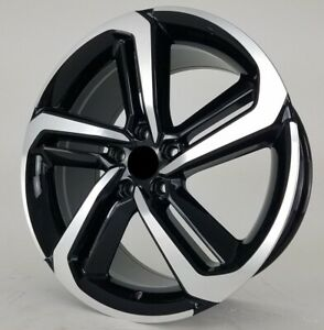 19 Inch W315 Wheels Rims For Accord Sport 2011 2020 Front Black Machined