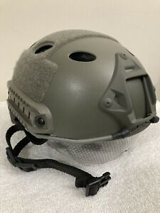 Airsoft Tactical Paintball Protective Combat FAST Helmet Riding Gaming w Goggle $29.99