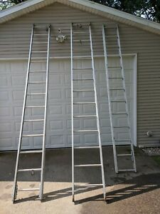 Duo safety 1225 a 3 Section 35 Aluminum Extension Ladder From Fire Truck Per Pc