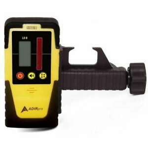 Rotary Laser Level Detector Dual Display With Built in Bubble Level Water Resist