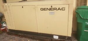 Generac 70kw Guardian Elite Series Standby Generator With Ats Low Hours