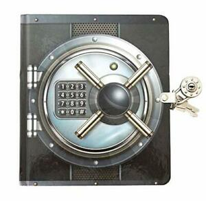 Playhouse Vault Door Lock Key Lined Page Diary For Kids