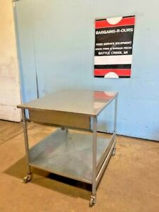 belshaw Stainless Steel 26 X 32 Donut Glazing Table Lid Screen Scoop