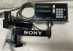 Sony Lg10 2 Magnescale Counter Unit dro Used With Cords no Scales