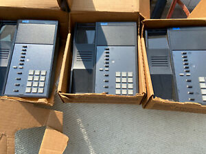 Lot Of 3 Black Rolm Rp612s Phone With Boxes