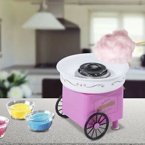 Electric Cotton Candy Machine Sugar Floss Maker Carnival Party Diy Sweet Device