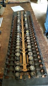 Crouse Hinds Fuse Electrical Panel Antique Buss Bar 77 Lbs