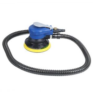 For 5in Pneumatic Air Sander 10000rpm Waxing Polishing Machine Dust Collection