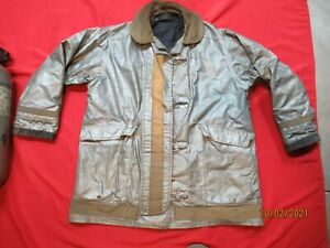 Vintage Morning Pride 40 X 30 Firefighter Turnout Gear Jacket Coat Rescue Tow