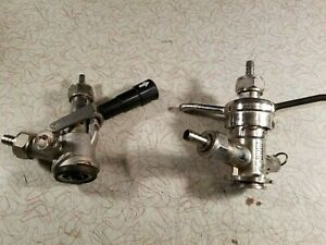 Pair Of Used Keg Couplers Taps