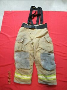 Mfg 2005 Globe Gxtreme 42 X 28 Firefighter Turnout Bunker Pants Fire Rescue