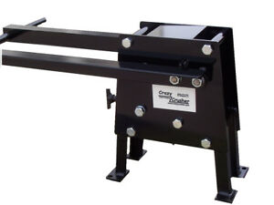 Patented Hand Operated Rock Crusher 100 Steel With out Hitch Mount