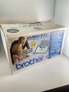 Brother Intellifax 775si Plain Paper Fax Phone Copier W manual Toner Stands