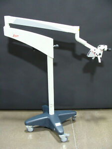 Leica M320 Ent Dental Clinic Surgery Surgical Microscope On F12 Stand Full Hd