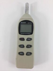 Extech 407730 Digital Sound Level Meter 40 To 130db